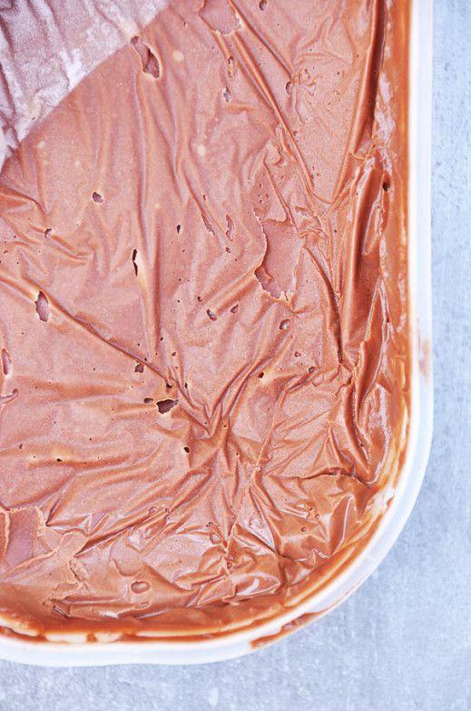 Crème glacée chocolat moka - recette facile