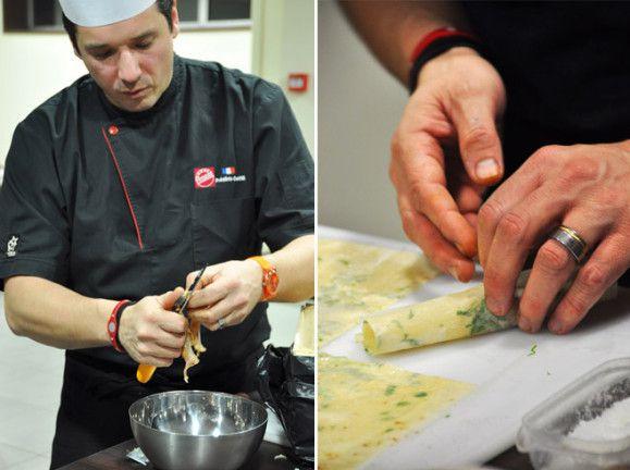 Cours de cuisine à Bordeaux avec le chef Frédéric Coiffé