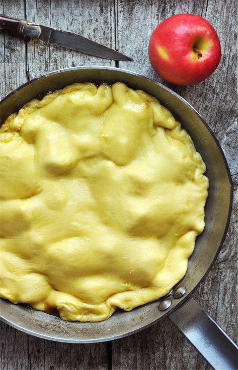 Tarte tatin aux pommes - recette facile - La cuisine de Nathalie
