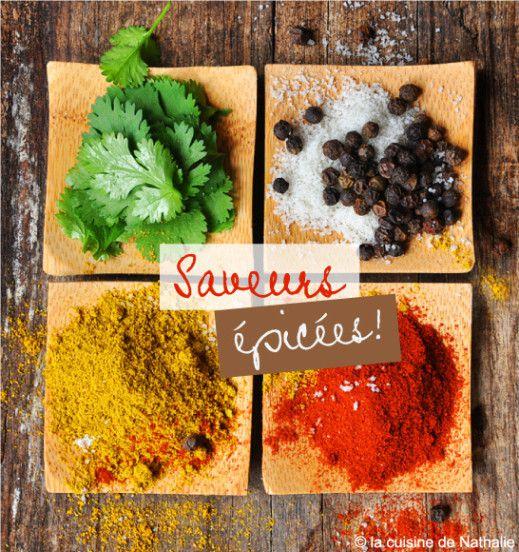 Gambas marinées aux épices, sauce raïta - recette facile