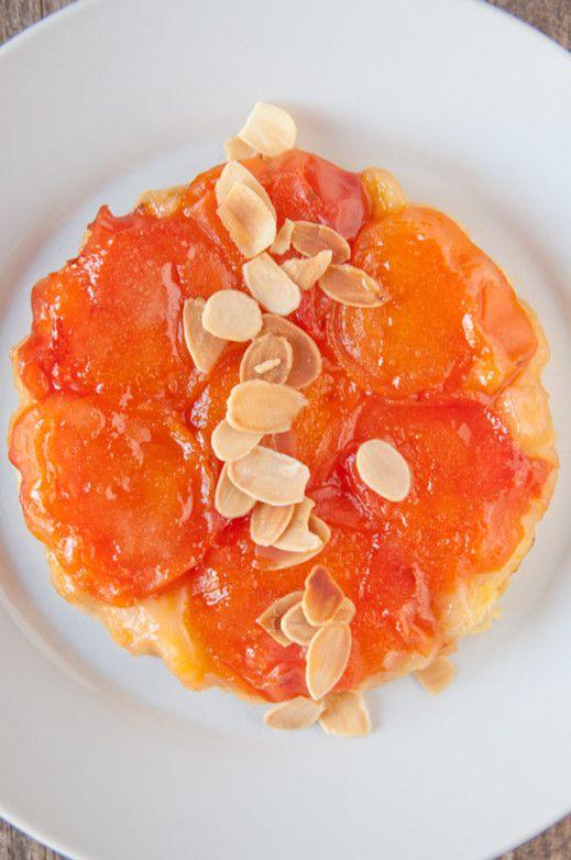 Tarte Tatin aux abricots - recette facile