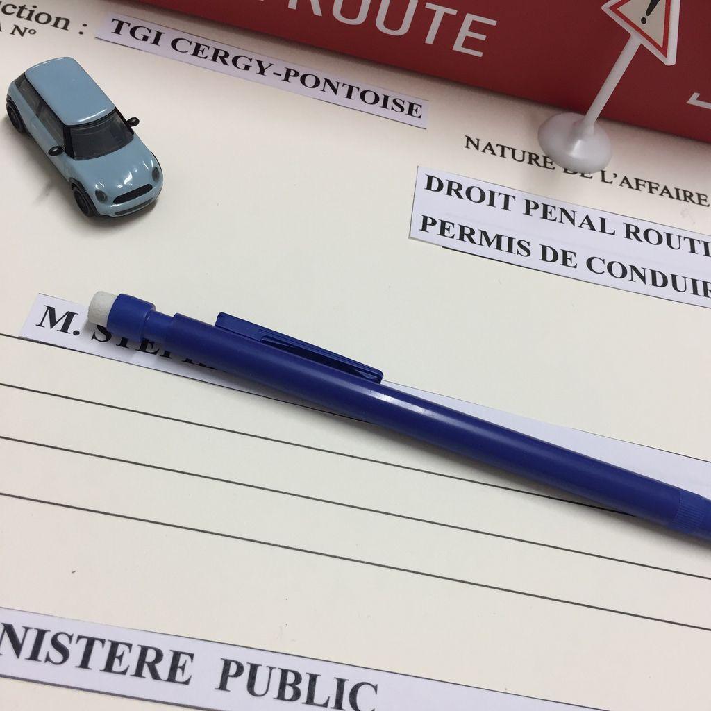 Avocat permis de conduire Cergy Pontoise