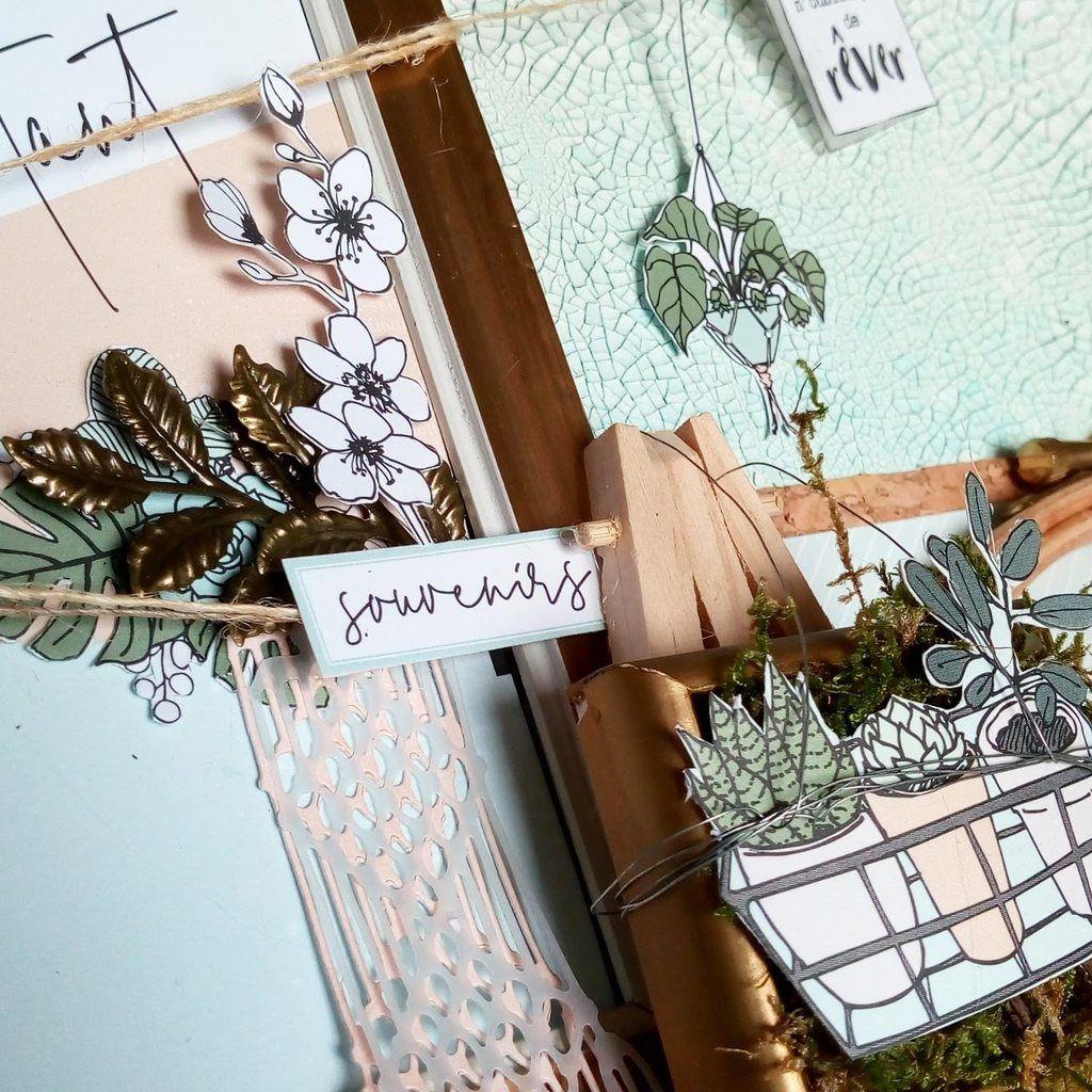 """fin du projet """"Home déco"""" avec la collection Soft&green de Florilèges design"""