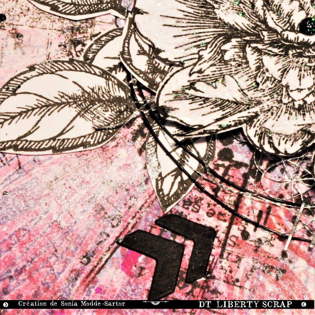 Carte thème fleurs
