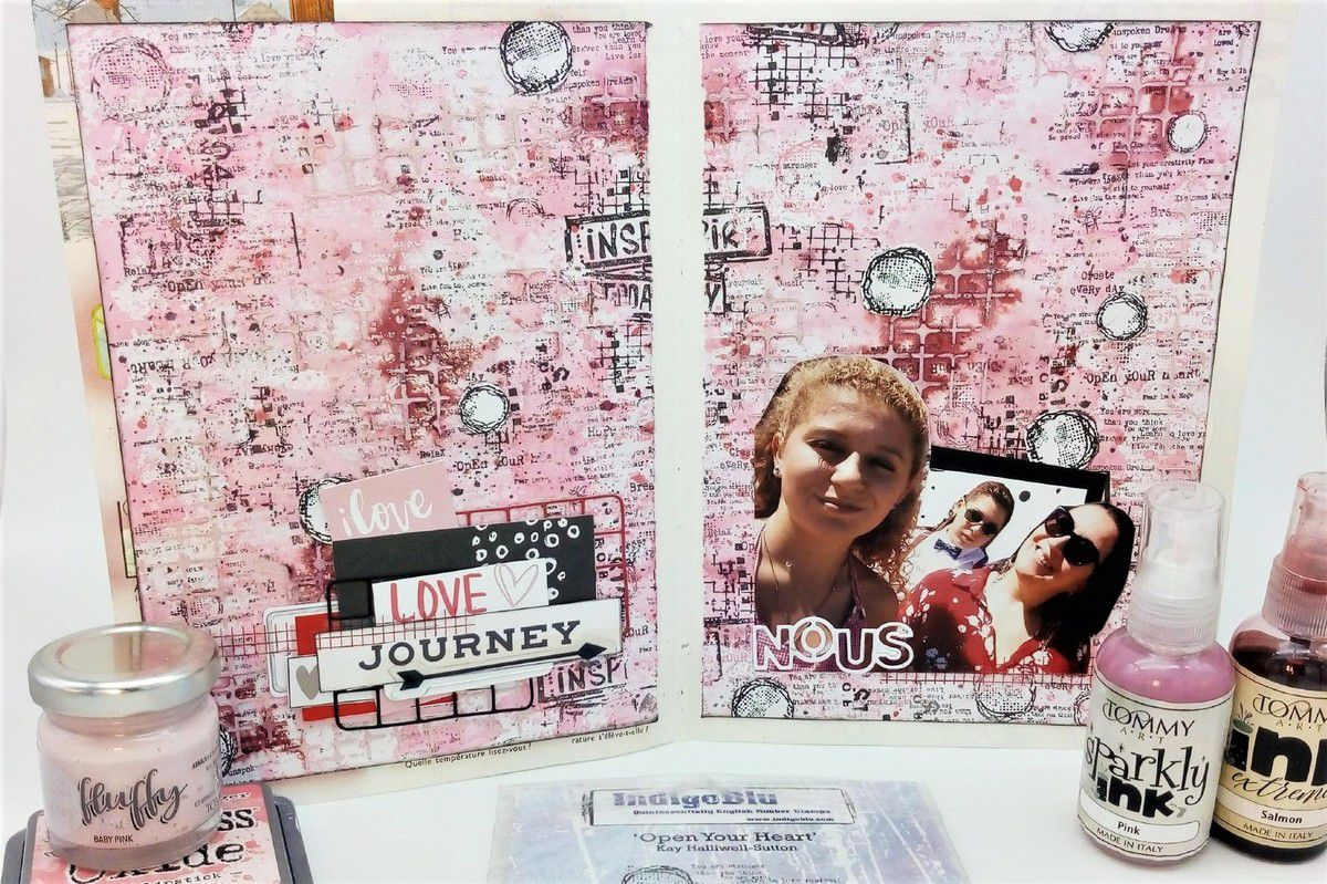 """Page Journal Art """"Nous"""""""