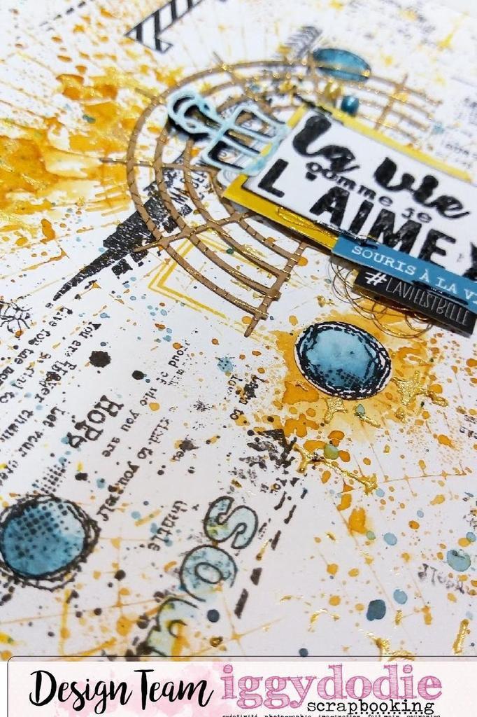 """Page Journal Art """"La vie comme je l'aime"""""""