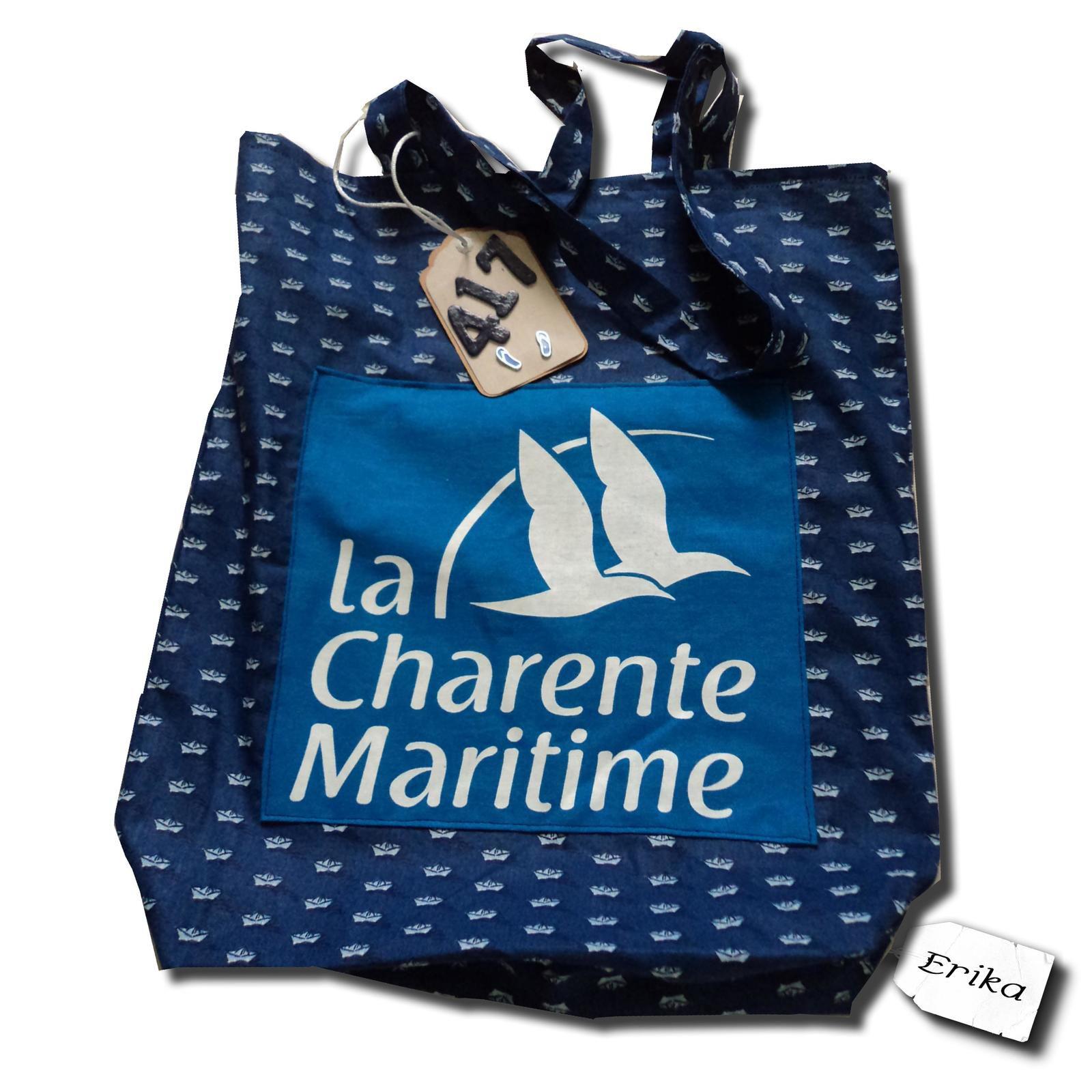 Sac Charente Maritime n°417 à Porto Rafti en Grèce...