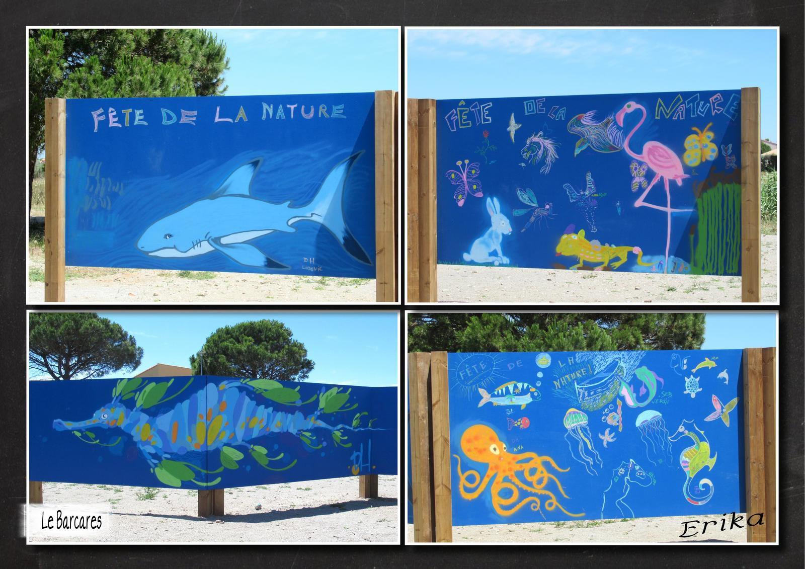 Street Art et trompe l'oeil ici et là...