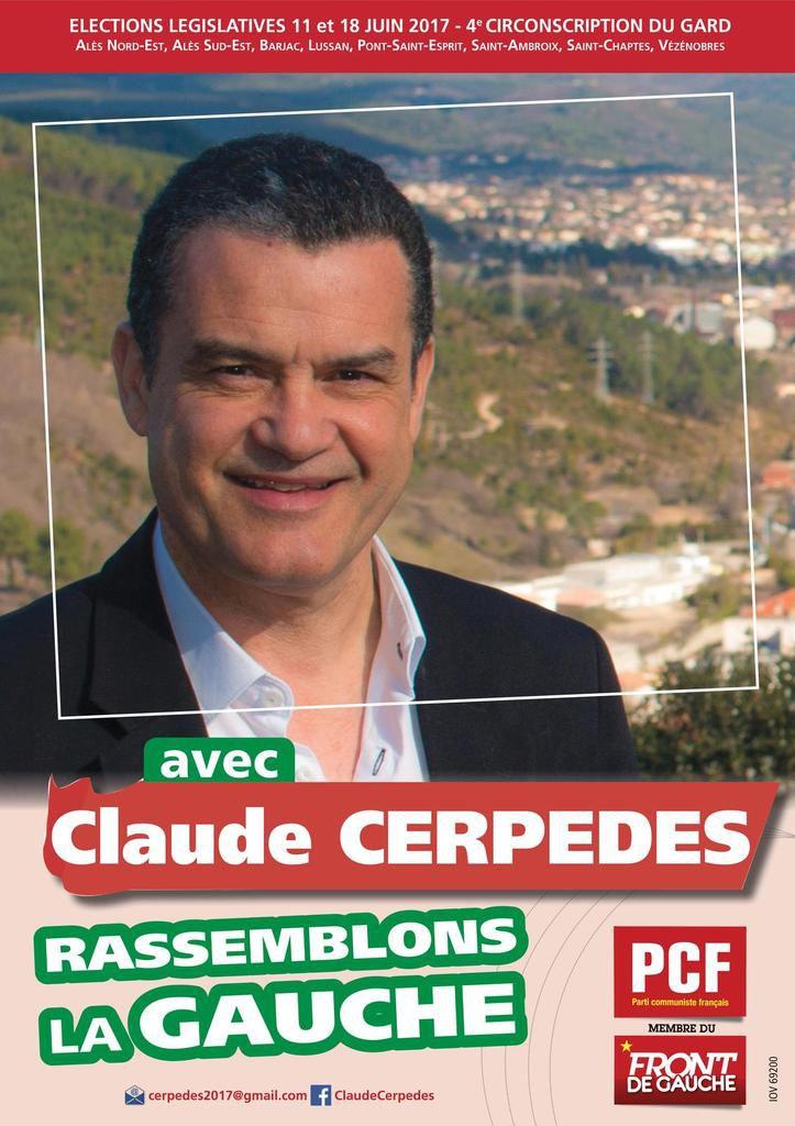CONFÉRENCE DE PRESSE DE CLAUDE CERPEDES