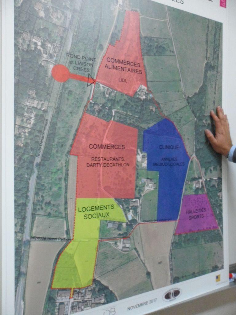 Plan du projet Bourdilhan