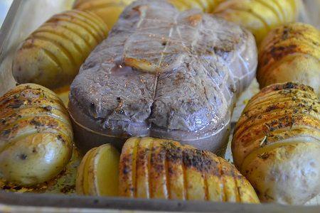 Rôti de bœuf aux pommes de terre paprika