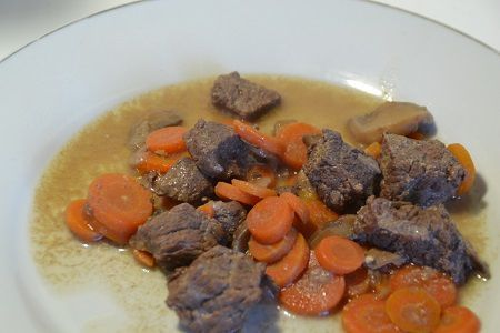 Boeuf moutarde au cookeo