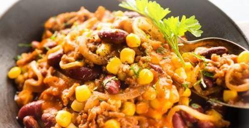 Recette cookeo Moulinex : chili con Carne