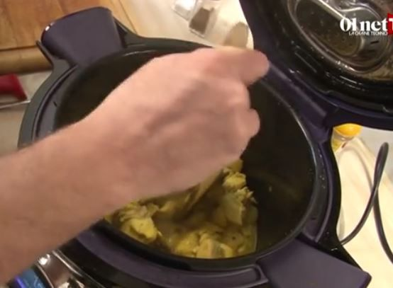 Curry de volaille cookeo connect