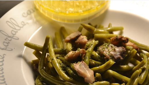 Cookeo haricots verts champignons en salade