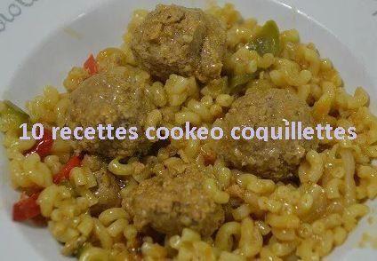 10 Recettes cookeo de coquillettes