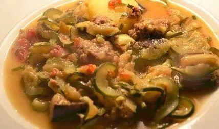 Steaks hachés 3 légumes au cookeo
