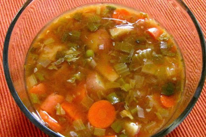 Soupe tomates épinards weight watchers cookeo