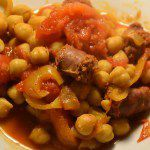 Pois chiche merguez au cookeo