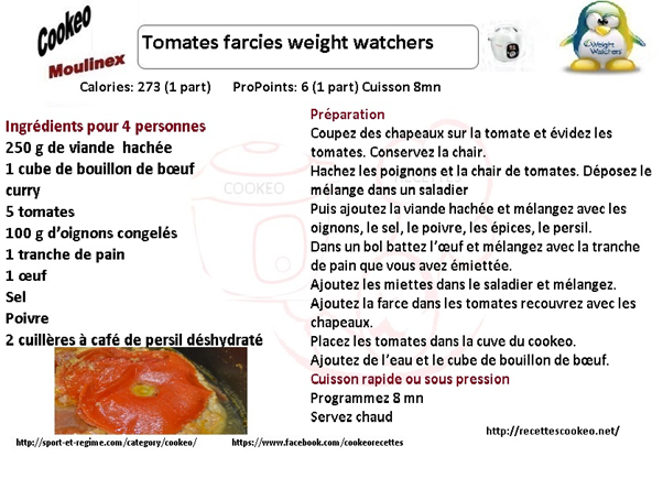 Tomates farcies cookeo : 6 recettes