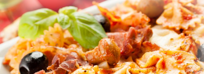 One pot pasta pizza style cookeo