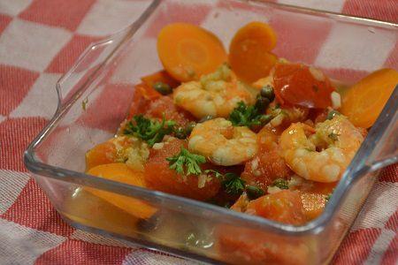 Ragoût de crevettes weight watchers au cookeo