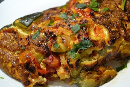Frittata tomates courgettes cookeo