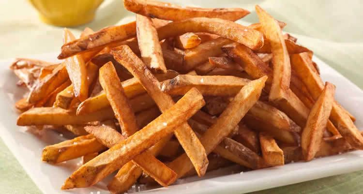 Frites cuites au four weight watchers