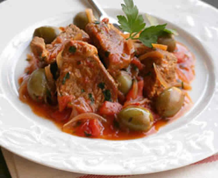 Boeuf aux olives recette cookeo