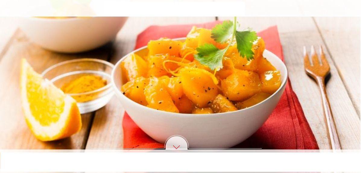 Citrouille à l'orange cookeo Moulinex idée pour les fêtes