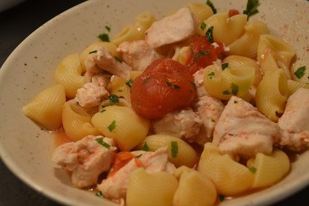 One pot pasta Pipe Rigate poulet cookeo
