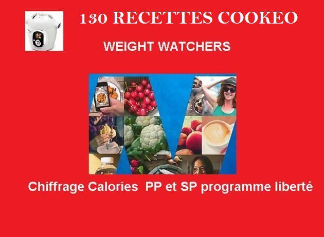 130 Recettes cookeo weight watchers PDF gratuit