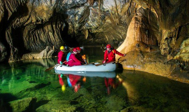 Les grottes de Slovénie
