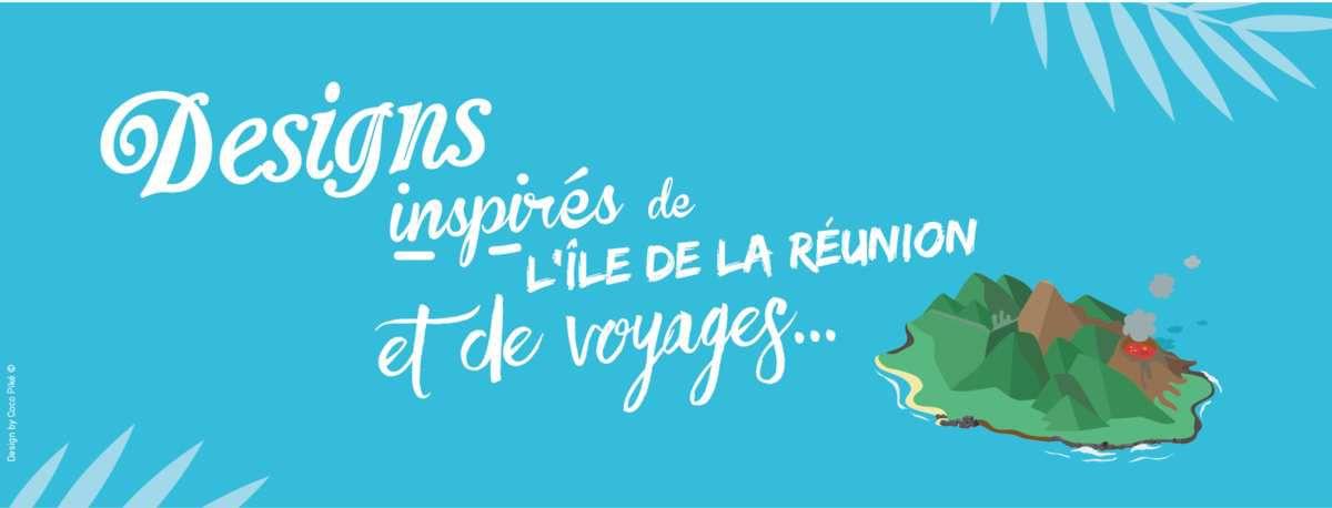 Coco Piké - T-shirts et posters inspirés de voyages ! (Impression locale et textile bio)
