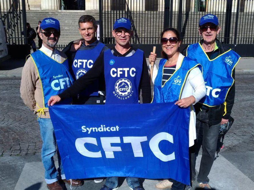 Manifestation à Bordeaux - La CFTC remercie toutes et tous pour leur soutien !