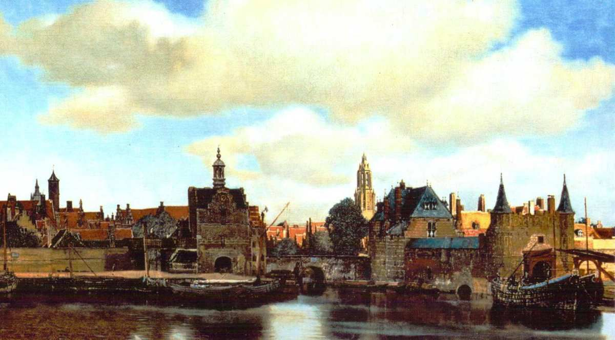 View of Delft / Maurithuis / The Hague