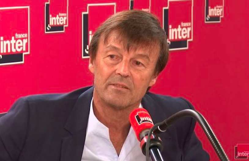 Nicolas Hulot au micro de France Inter © Radio France / Capture d'écran
