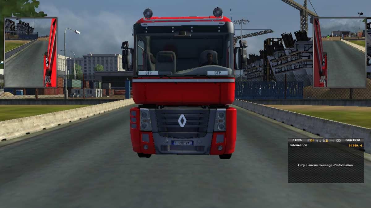 sur Euro Truck Simulator 2