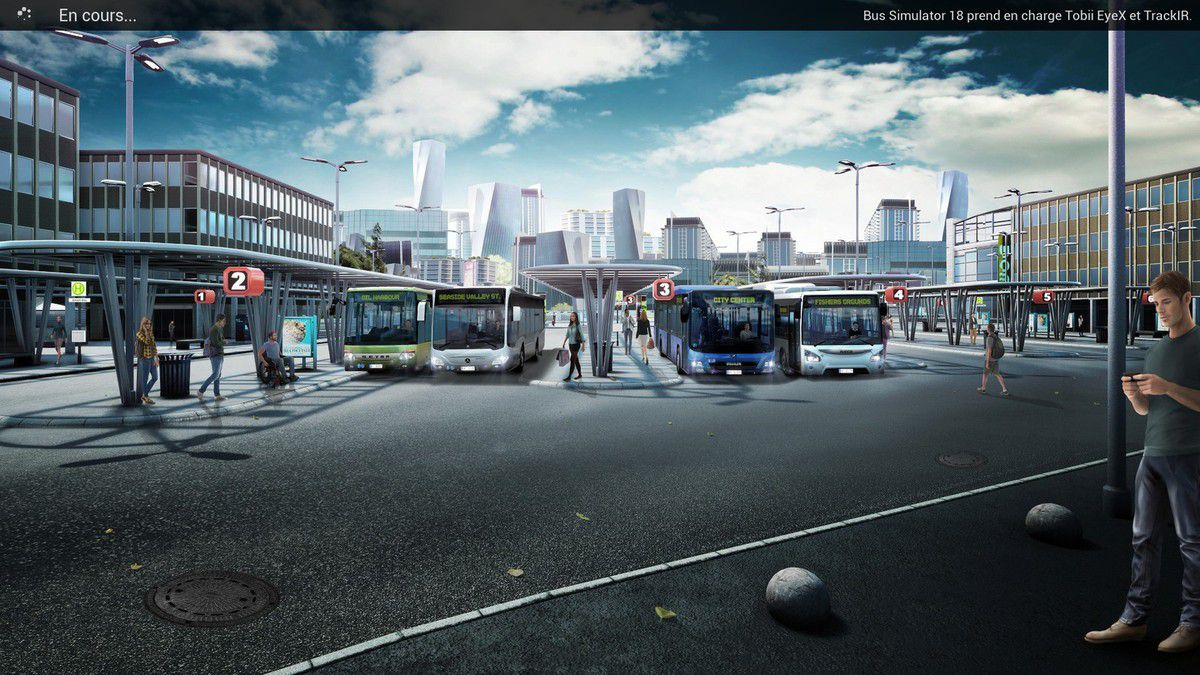 Bus Simulator 18   loic officiel