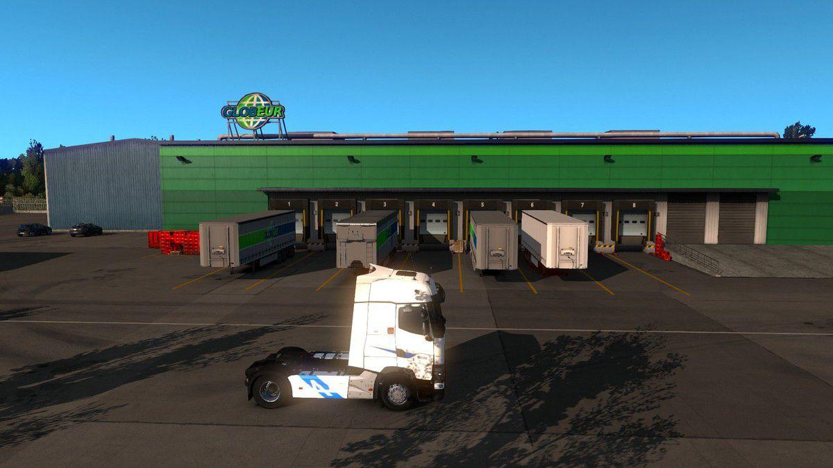 euro truck 2 photo & bus simulator 18