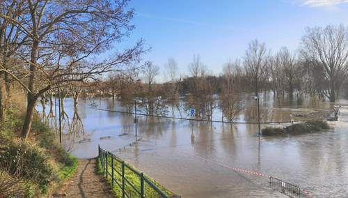 la crue de la Garonne a marmande   (47)   (parti 1)