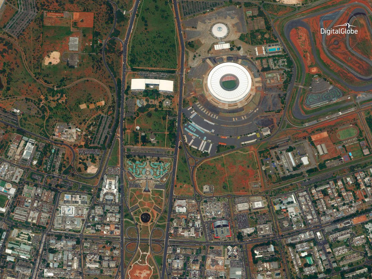 Sao Paulo - Brasil - Brésil - satellite WorldView-4 - Earth observation - DigitalGlobe - 30cm image - Very high resolution