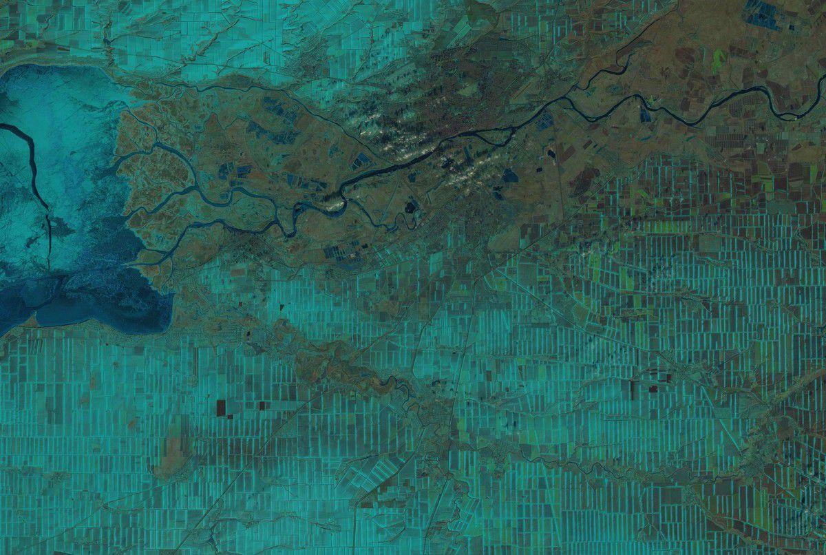 Quiz de la SAint-Valentin - coeur vu de l'espace - coeur vu par satellite - neige et glace