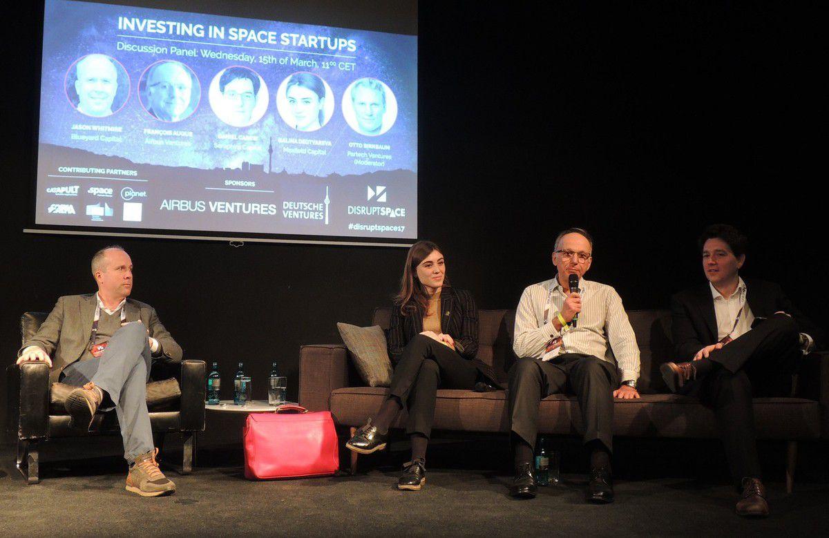 New Space - Venture Capital - Capital risque - Investisseurs - Airbus Venture - Seraphim - Maxfield - Blueyard - Startups - financement - Disrupt Space
