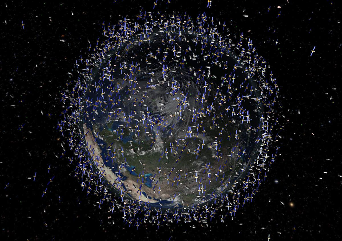 Debris - Space junk - Débris spatiaux - orbite basse - LEO orbit - Kessler - ESA - IADC - Space surveillance and tracking - SST