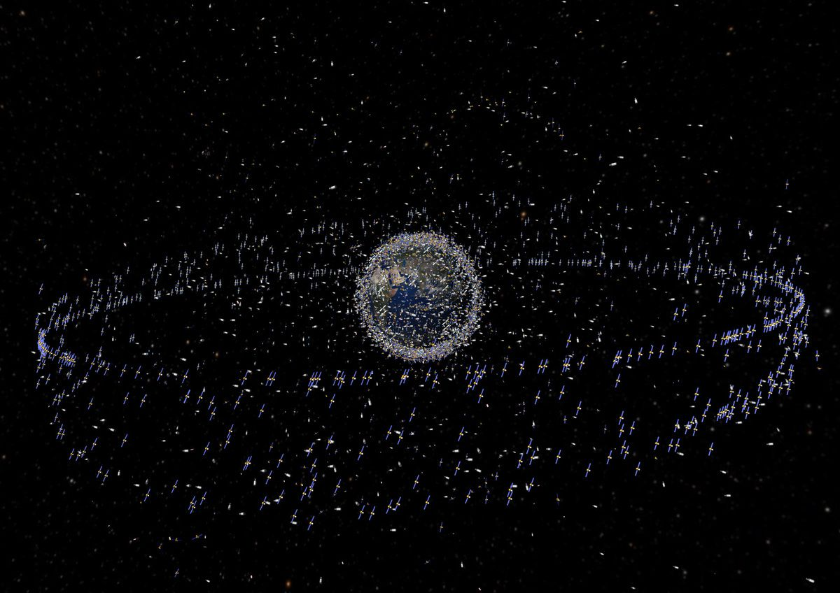 Space Debris - Junk - GEO orbit - Graveyard - ESA - IADC - Space surveillance and tracking - Meteosat-7 - Orbite cimetière