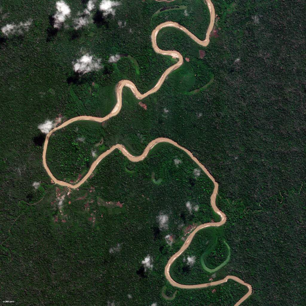 Venµs - Venus - Premières images - first images - satellite - Earth observation - Observation de la Terre - Pérou - Peru - Tropical forest - Forêt tropicale - déforestation - Climat - CNES