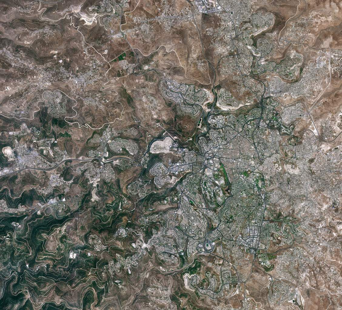 Venµs - Venus - Premières images - first images - satellite - Earth observation - Jerusalem - Israel - Israël - CNES - CESBIO