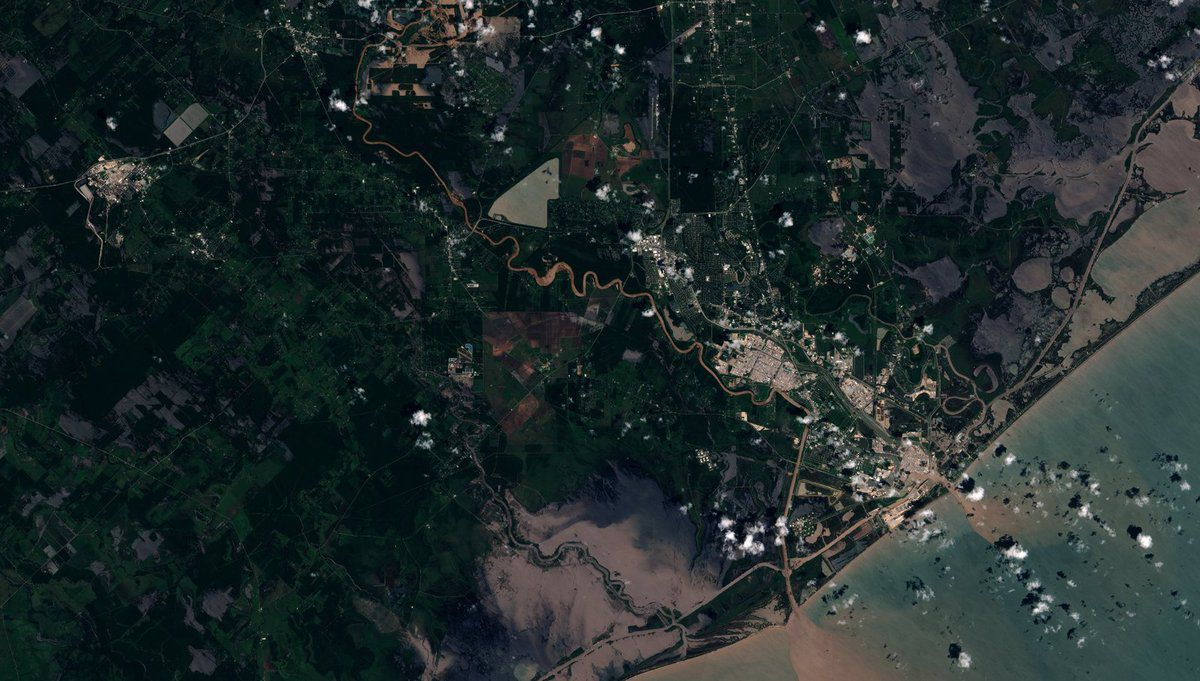Harvey - Texas - Floods - Houston - inondations - Sentinel - Sentinel-2B - Copernicus - ESA - Commision européenne - EU - EC - rapid mapping - Emergency mapping service