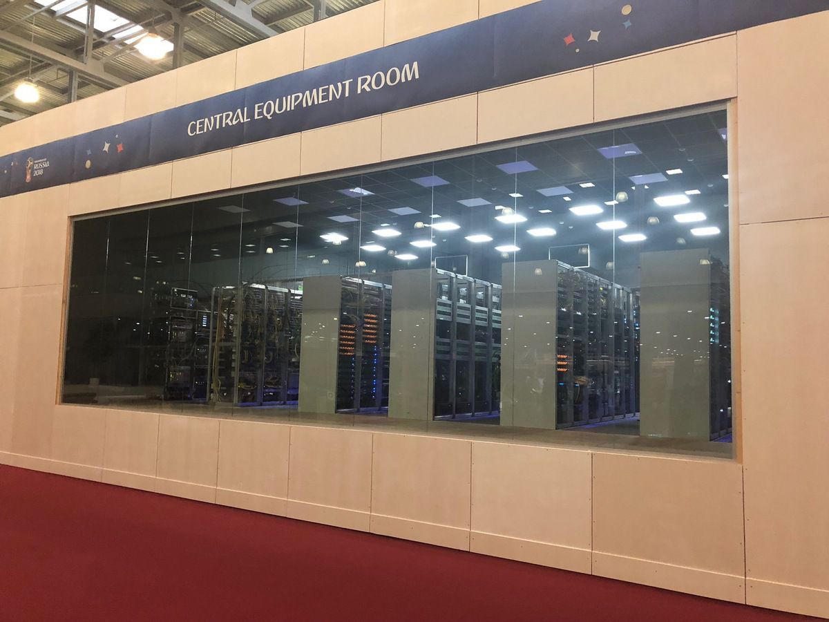 IBC - International Broadcast Centre - Central Equipment Room - Russia 2018 - FIFA - Moscou - Moscow
